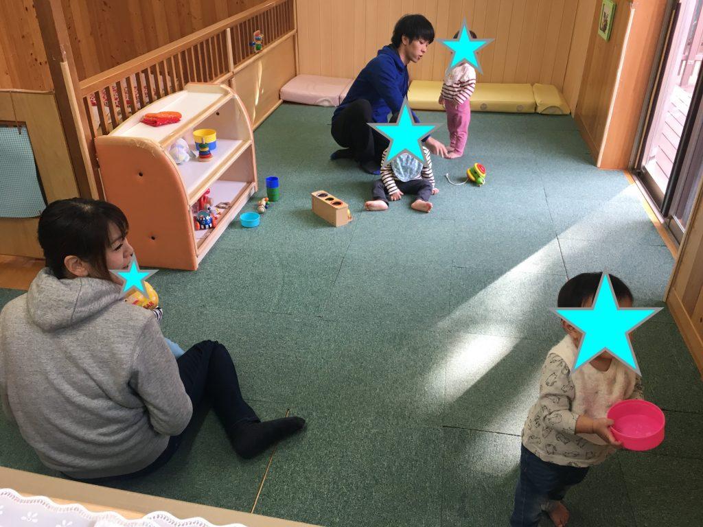 0-1歳児保育室