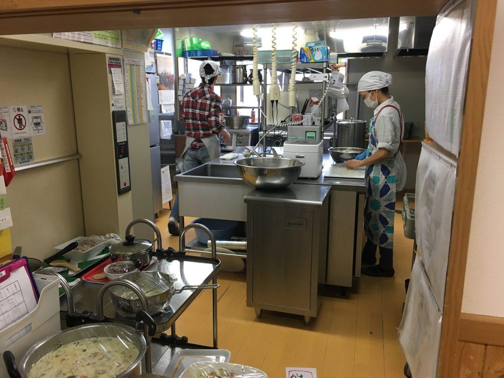 ランチルーム 調理室